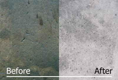 Concrete Cleaning with SEP3300 HD